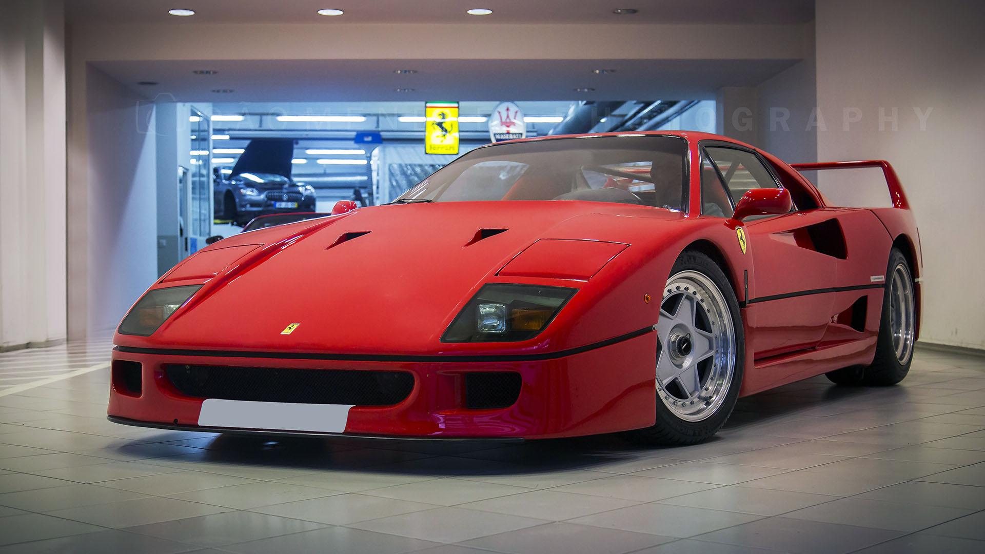 JMP - Ferrari F40