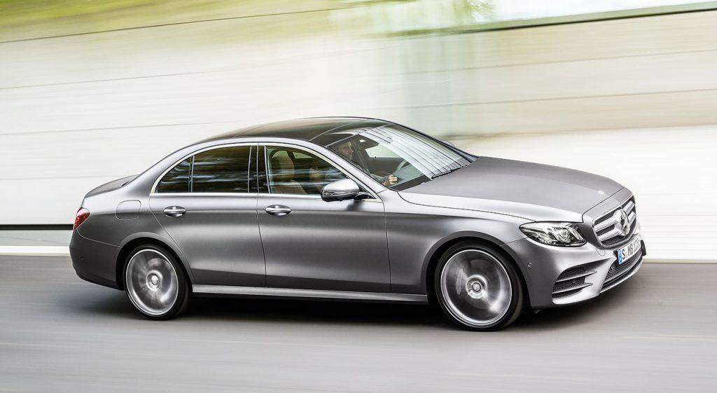 Mercedes Benz Oficializa Novo Classe E Motor