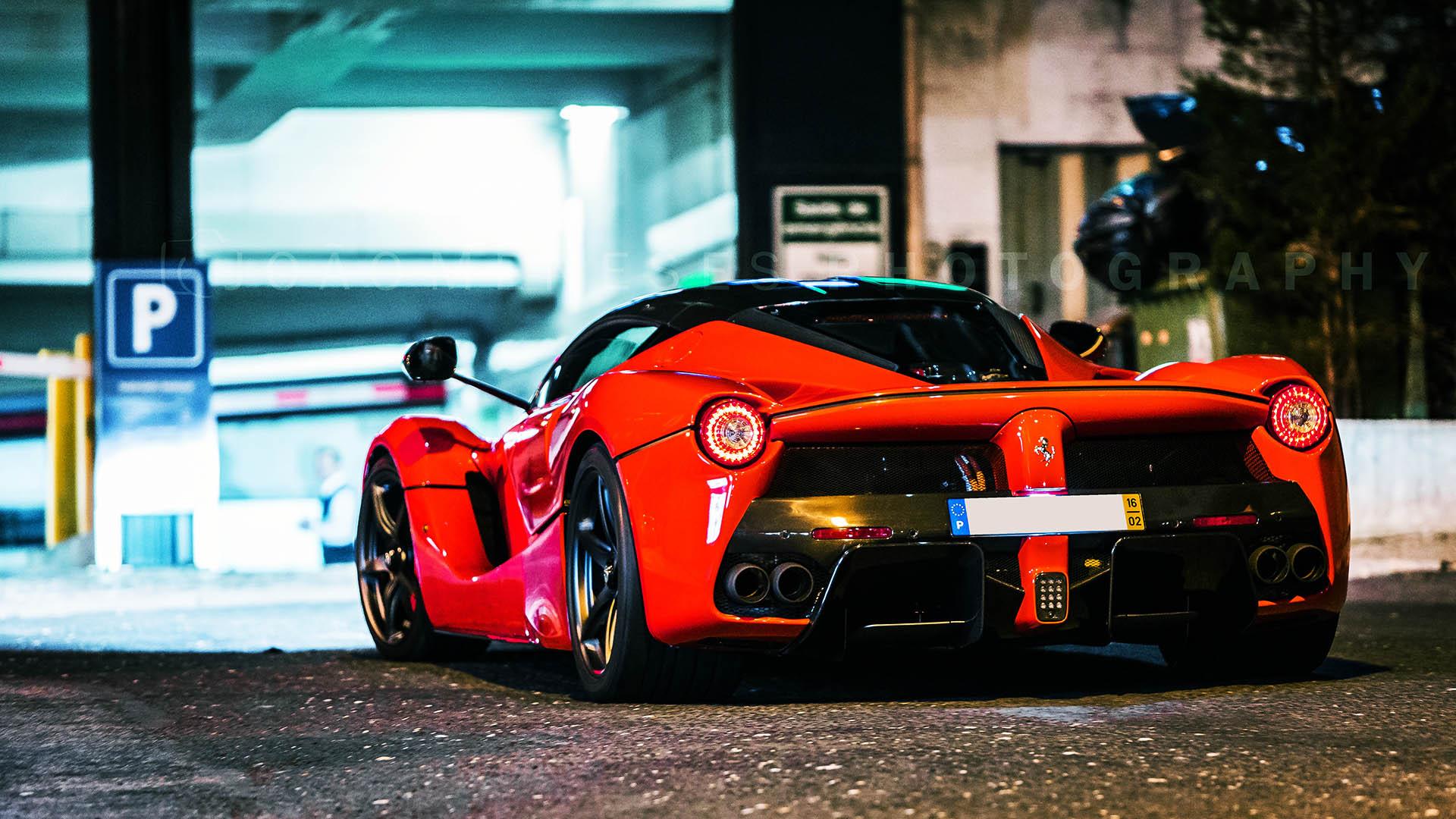 Fotografia da Semana - Ferrari LaFerrari - Motor