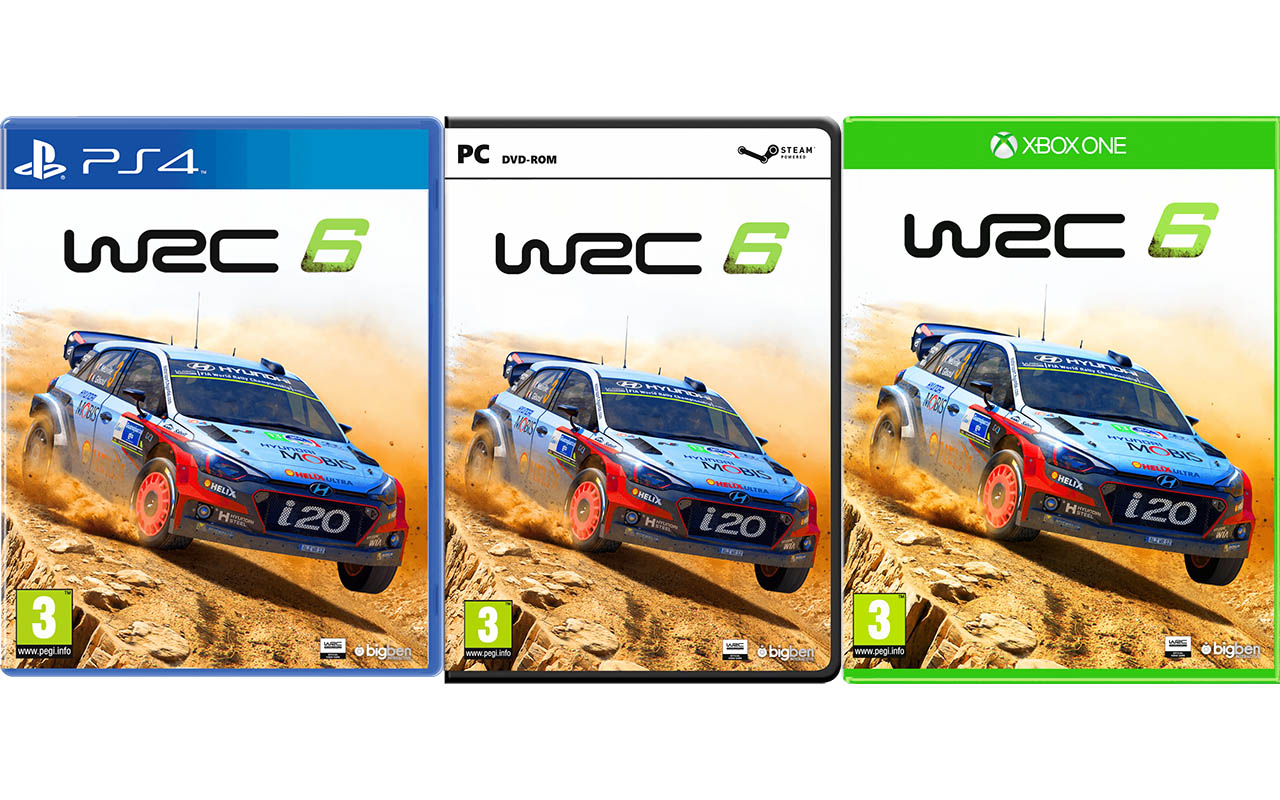 wrc 6 j dispon vel para pc xbox one e playstation 4 motor. Black Bedroom Furniture Sets. Home Design Ideas